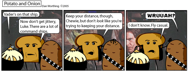 C'mon, if any character in this comic is Han Solo, it's Toast.