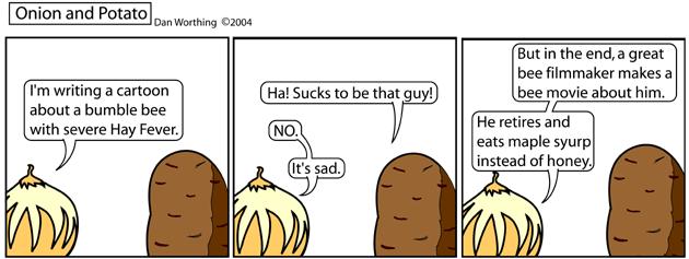This comic sucks.