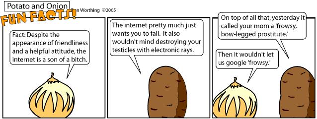 I still love you, Internet.